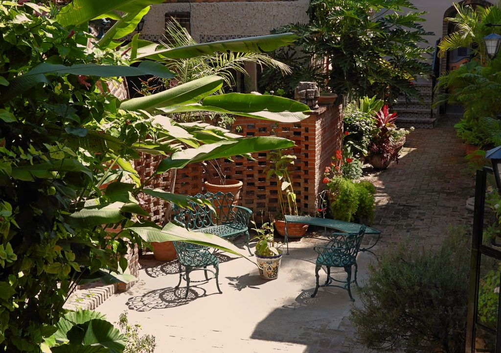 360 Xochi Quetzal Artist and Writers Residency - terrace at Villa QQ Hotel artist residency space
