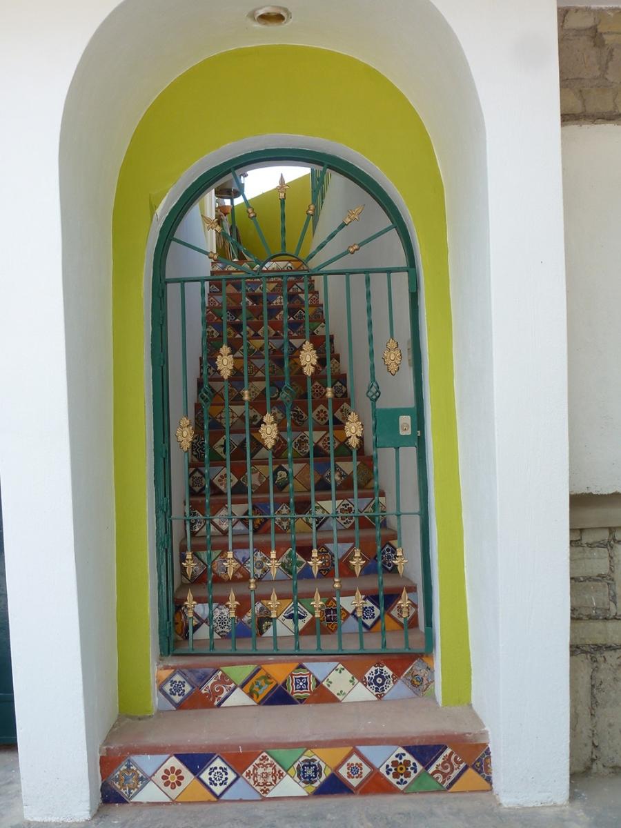 Entrance to casita