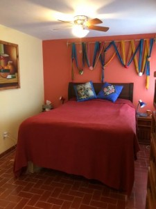 middle casita bedroom