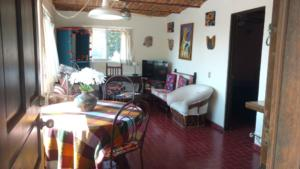 upper casita living area